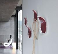 IVY, Kleiderhaken, in zweifarbigen Methacrylat, Wohnzimmer