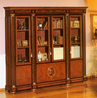 IMPERO / HOME OFFICE Bookcase, Eleganter Klassiker-Bibliothek für professionelle Studio-