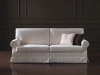 Navarra, Sofa mit klassischen Linien, abnehmbarem Stoff, für Wohnzimmer