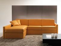 Afrodite halbinsel, Sofa-Bett mit Lagerung und Halbinsel, für die Wohnung