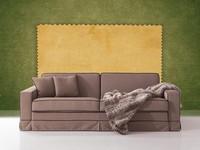 Polifemo, Sofa mit versteckten Bett, Frontöffnung, für Wohnzimmer