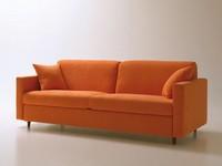 Voyager, Platzsparende Schlafcouch, mit Drehöffnung, abnehmbarem Stoff