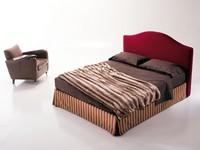 Regolo, Polsterbett mit Aufbewahrungsbox, für Schlafzimmer