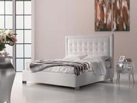 Titano, Bett mit Lagerung, modernen Stil, Zimmer für Gäste