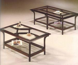 2170/2 KLEINER TISCH, Raw Holz Couchtisch, Outlet-Preis