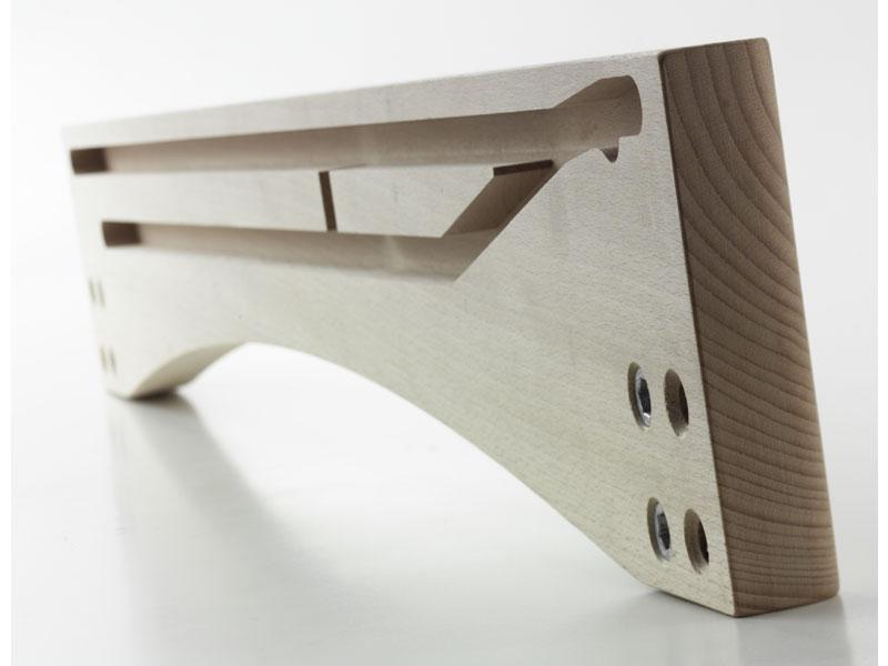 SPONDINA, Ufer für ausziehbare Holztisch