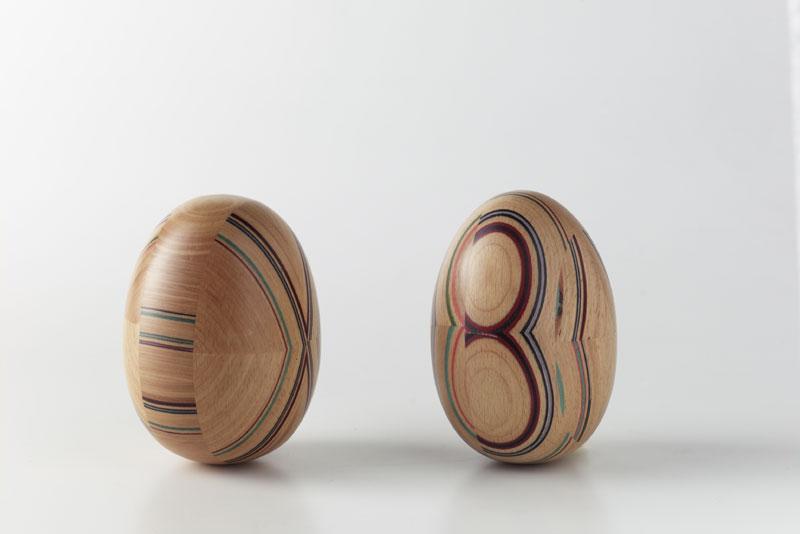 COLOURED INSERTS, Original-Holzeinlage